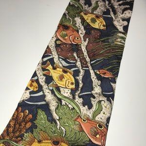 Van Heusen Accessories - Men's van Heusen fish tie